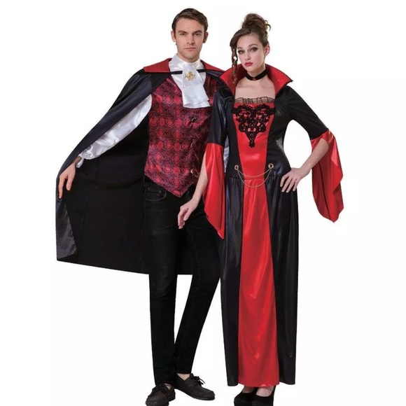 14efbfa4e275 Totally Ghoul Other | Gothic Vampire Mens Halloween Costume One Size ...